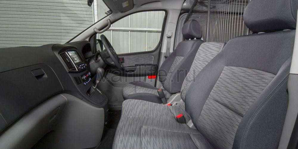 Новинка 2017 года: фургон iLoad от компании Hyundai