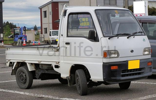 Самый маленький грузовичок - Subaru Sambar