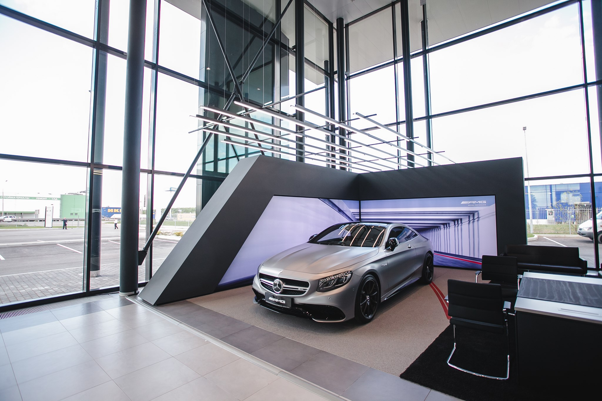 «АРТ-МОТОРС МБ» открывает новое здание дилерского центра в Уфе