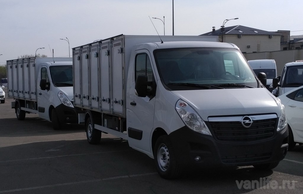 Холдинг «АИС» поставит партию хлебных фургонов Opel Movano украинской компании «Хлебные инвестиции»