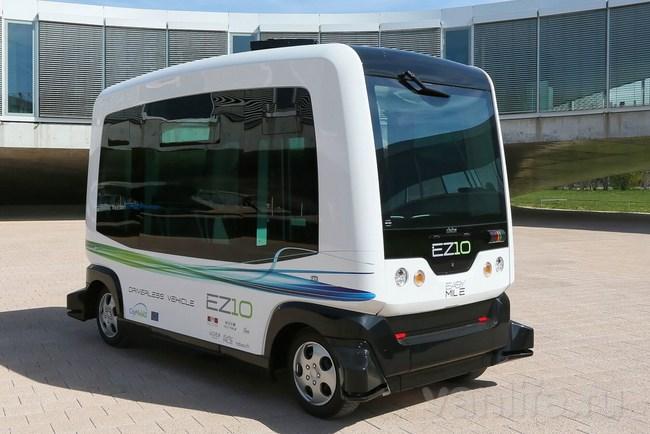 В Финляндии на постоянной основе будут использовать беспилотные автобусы