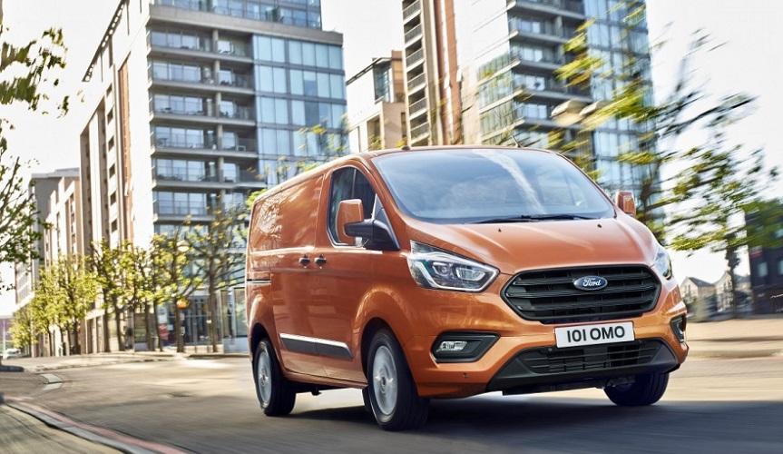 Ford представил новый фургон Transit Custom