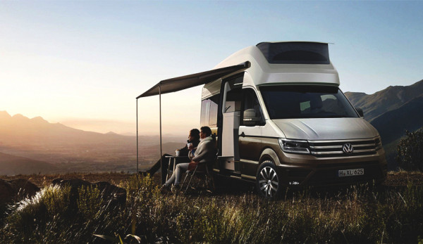 Компания Volkswagen представит концепт дома на колёсах на базе фургона Crafter