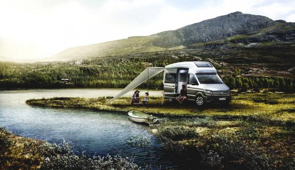 Стали известны новые подробности о доме на колёсах Volkswagen California XXL