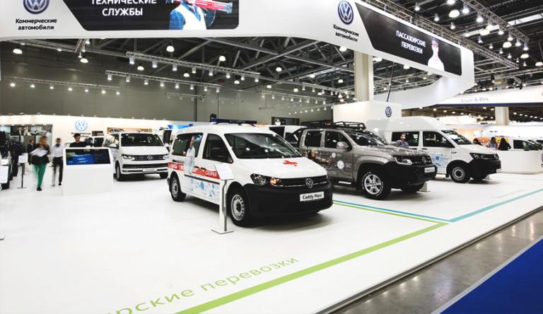 Volkswagen Коммерческие автомобили на выставке COMTRANS 2017