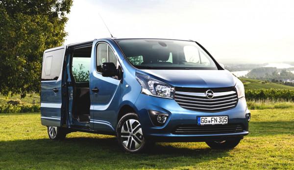 Новинка от Opel: мотель на колёсах на базе фургона Vivaro