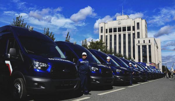 Ford Sollers поставил более 600 автомобилей Transit Почте России