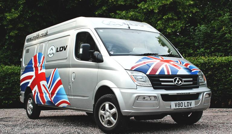 Фургоны LDV V80 класса Евро 6 появятся в Великобритании в следующем году