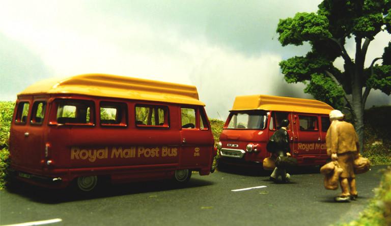 Музейный экспонат – почтовый фургон Dodge Spacevan