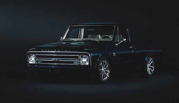 Марка Chevrolet подготовила отреставрированный пикап С-10 в честь 100-летнего юбилея