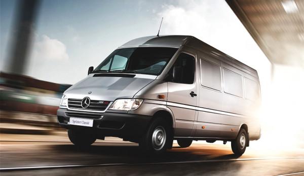 Mercedes-Benz отзывает более 14 тысяч фургонов Sprinter Classic 909 в России