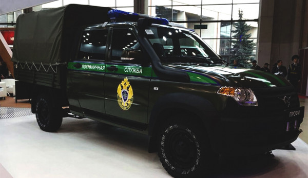 УАЗ представил спецавтомобили на базе нового «ПРОФИ»