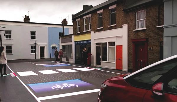 В Лондоне тестируют «умный» пешеходный переход