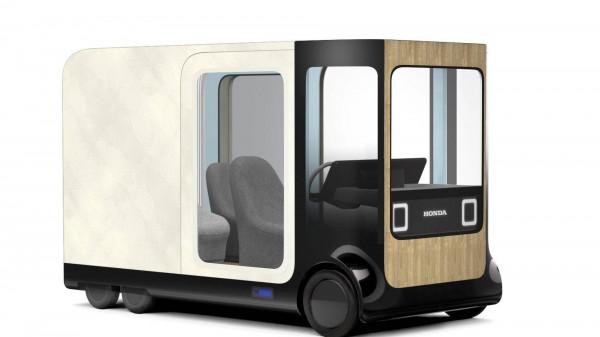 Honda представила необычные авто на выставке в Токио