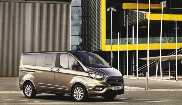 В Санкт-Петербурге начались онлайн-продажи нового Ford Tourneo Custom