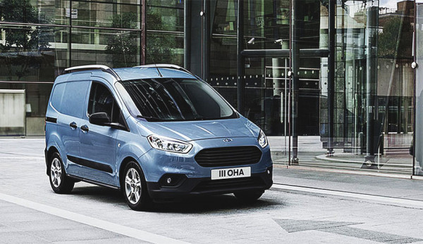 Новые Ford Tourneo Courier и Ford Transit Courier