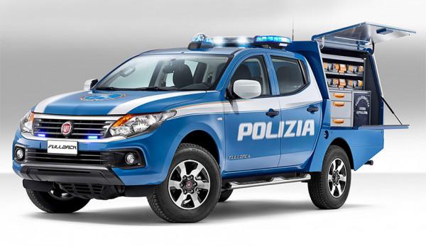 Мобильная лаборатория для криминалистов на базе пикапа Fiat Fullback