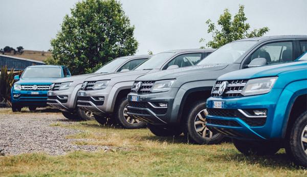Volkswagen отзывает пикапы Amarok в России