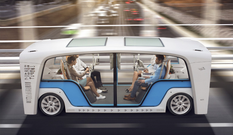 Представлен прозрачный беспилотник Rinspeed Snap – транспорт будущего