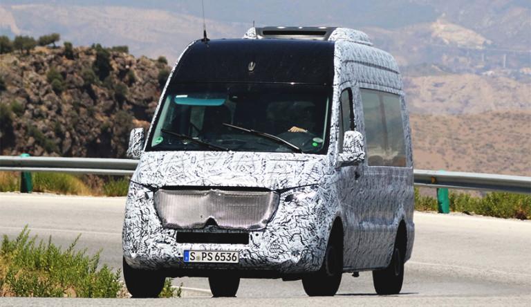 Mercedes-Benz проводит финальные испытания фургона Sprinter нового поколения