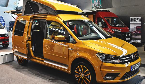 Volkswagen Caddy превратили в шикарный дом на колесах
