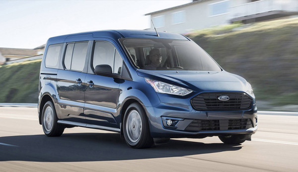 Компания Ford представила обновлённый Transit Connect Wagon