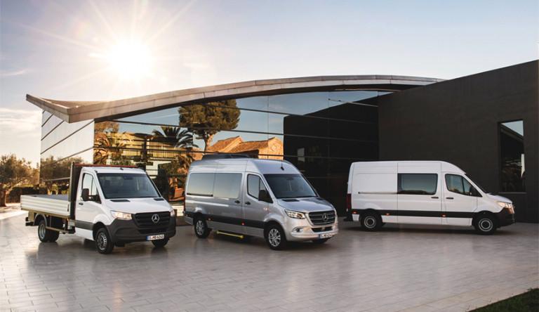 Mercedes-Benz представляет третье поколение Sprinter