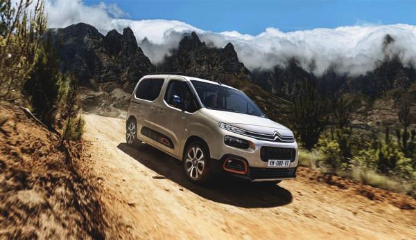 Компания Citroen рассекретила новое поколение фургона Berlingo