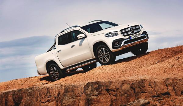 Объявлены российские цены на автомобили Mercedes-Benz X-Класса