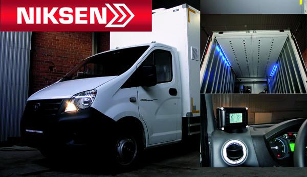 Фургоны-цыплятовозы от производственной компании Niksen