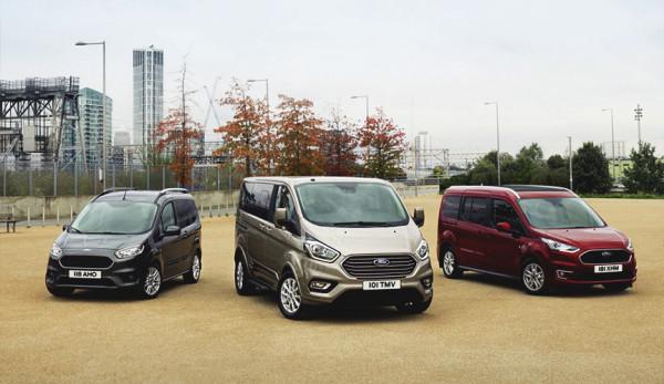 Ford представил обновлённую версию микроавтобуса Tourneo на выставке в Женеве