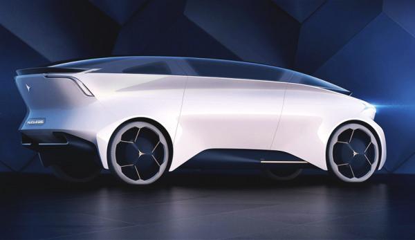 На выставке в Женеве представили автономную «гостиную» на колёсах