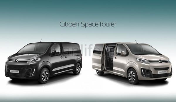 Новый «Citroen SpaceTourer» на выставке в Женеве
