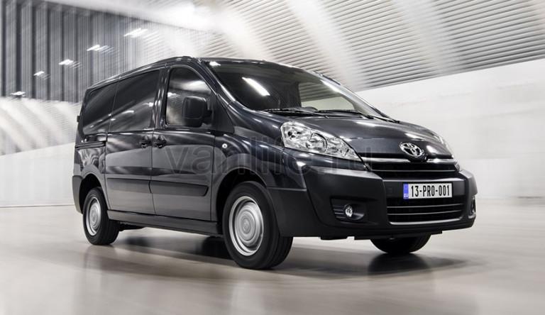 Технические характеристики Toyota Proace