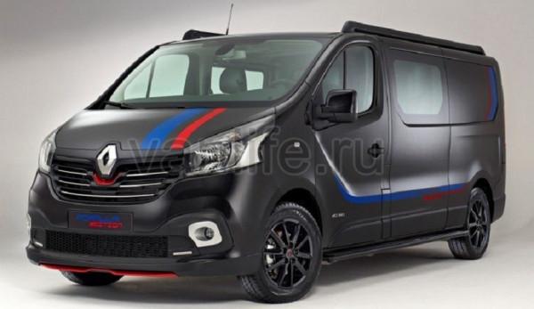 Renault Trafic Formula Edition спортивное «произведение искусства»