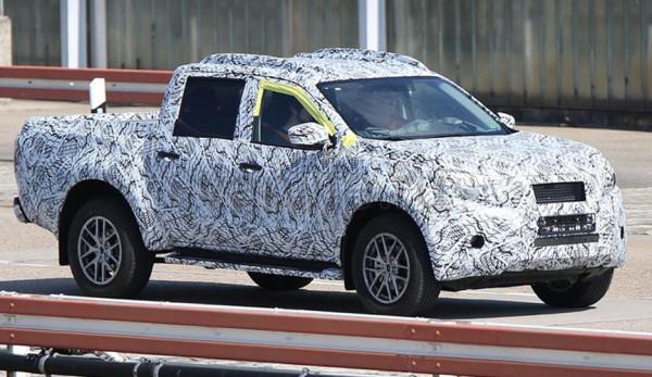 Mercedes-Benz 4x4 pick-up truck – безымянная немецкая новинка