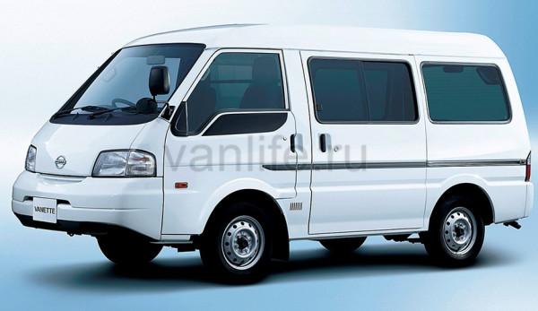 Технические характеристики Nissan Vanette