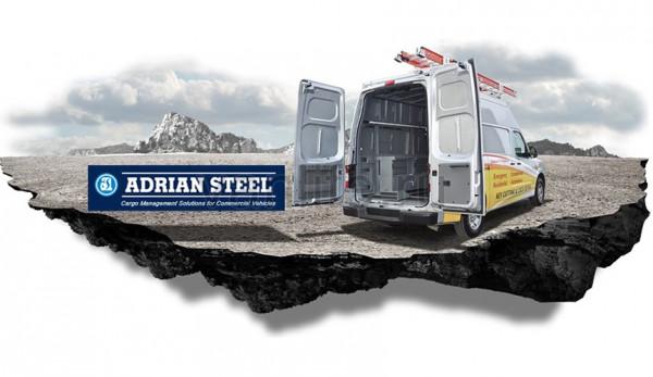 Композитные перегородки для фургонов от компании Adrian Steel