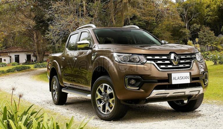 Пикап Renault Alaskan представлен официально