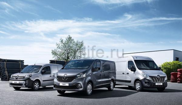 Обновлённые фургоны Renault с двигателями Евро-6
