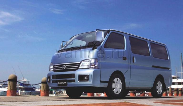 Технические характеристики Nissan Caravan