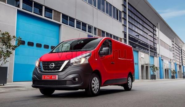 Технические характеристики Nissan NV300