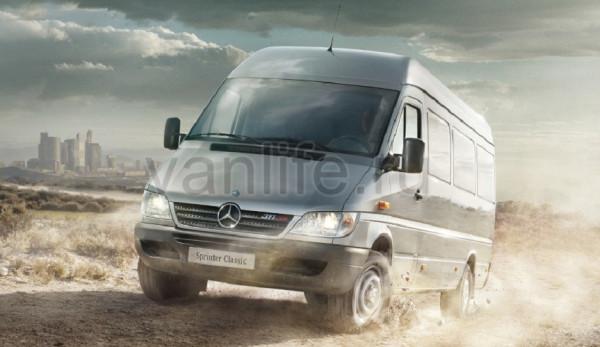 Завод ГАЗ будет собирать новый «Mercedes Sprinter»?