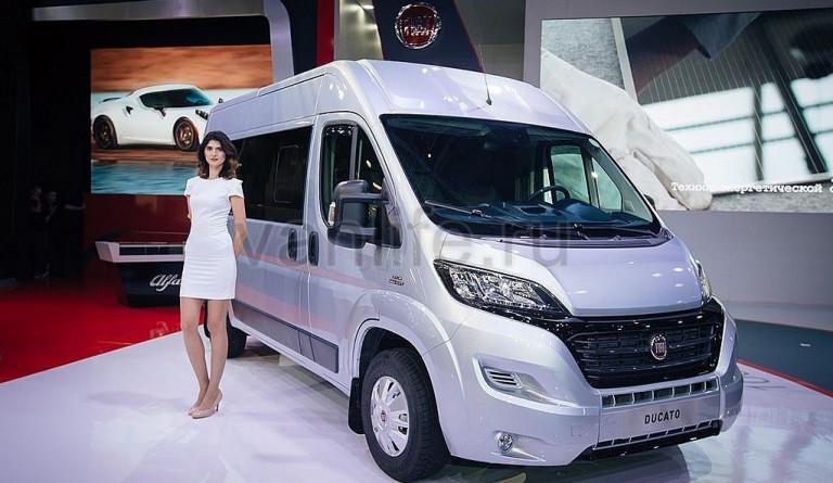 Российские автолюбители в ожидании обновлённых коммерческих фургонов «FIAT»