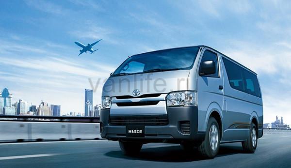 22 автомобиля Toyota Hiace попали под отзыв в России