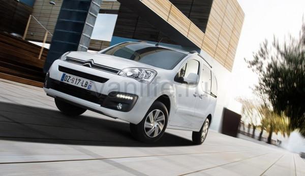 Новый электрофургон Citroën E-Berlingo Multispace