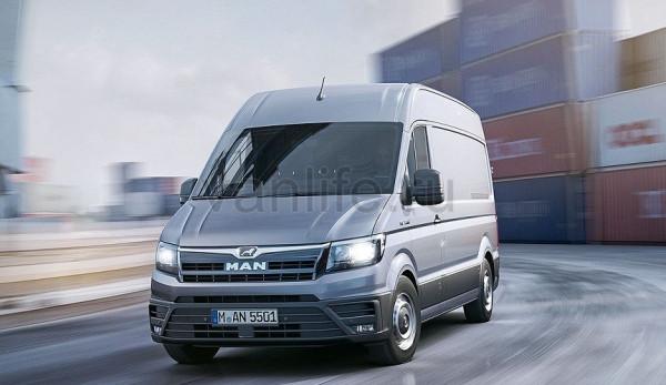 Фургон MAN TGE начали продавать в Европе