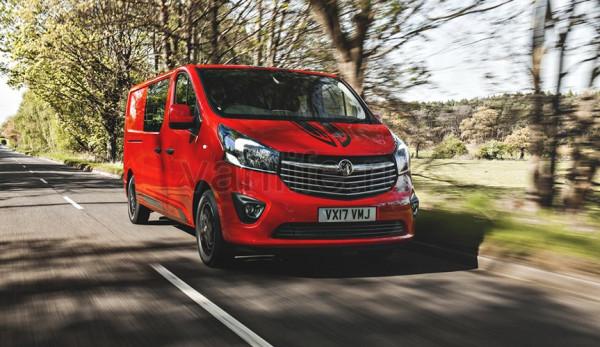 Фургон Vauxhall Vivaro Limited Edition начнут продавать в Великобритании