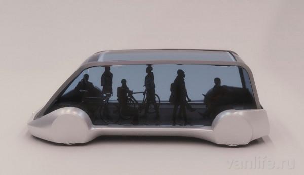 Компания Илона Маска разрабатывает электрический микроавтобус, передвигающийся в туннеле