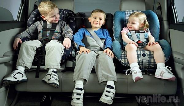 Изменения в ПДД – новые правила перевозки детей